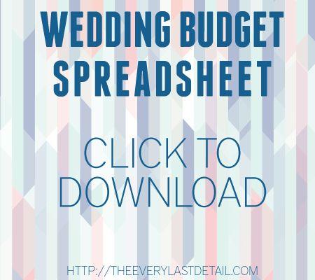 Wedding Budget 101 Wedding budget spreadsheet, Budgeting and - sample wedding budget