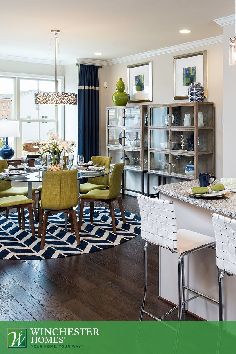 The Hadden Models Eat In Kitchen And Dream Dining Room Are Perfect