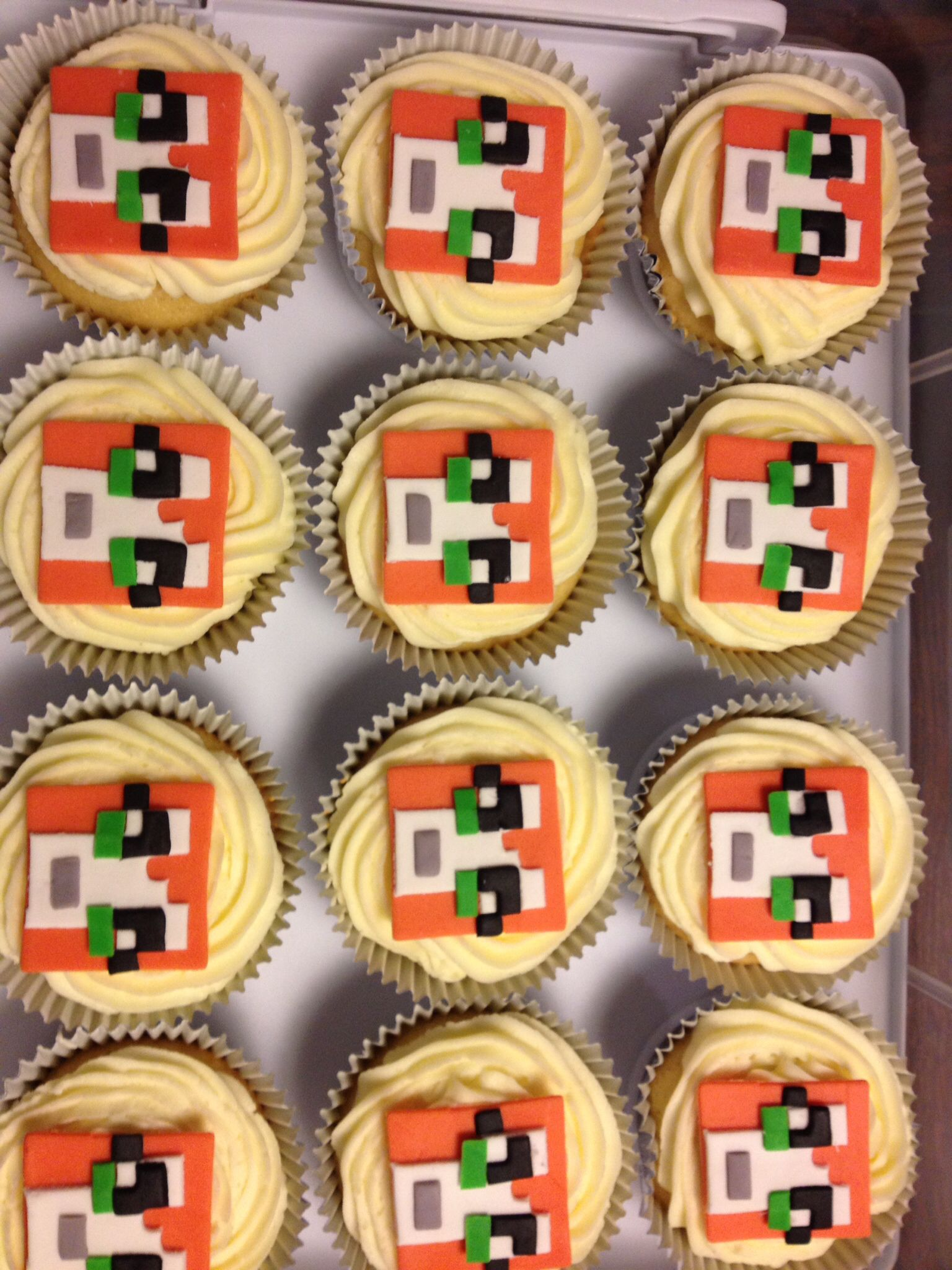 Stampy cupcakes minecraft pinterest birthday cakes cake and stampy cupcakes forumfinder Choice Image
