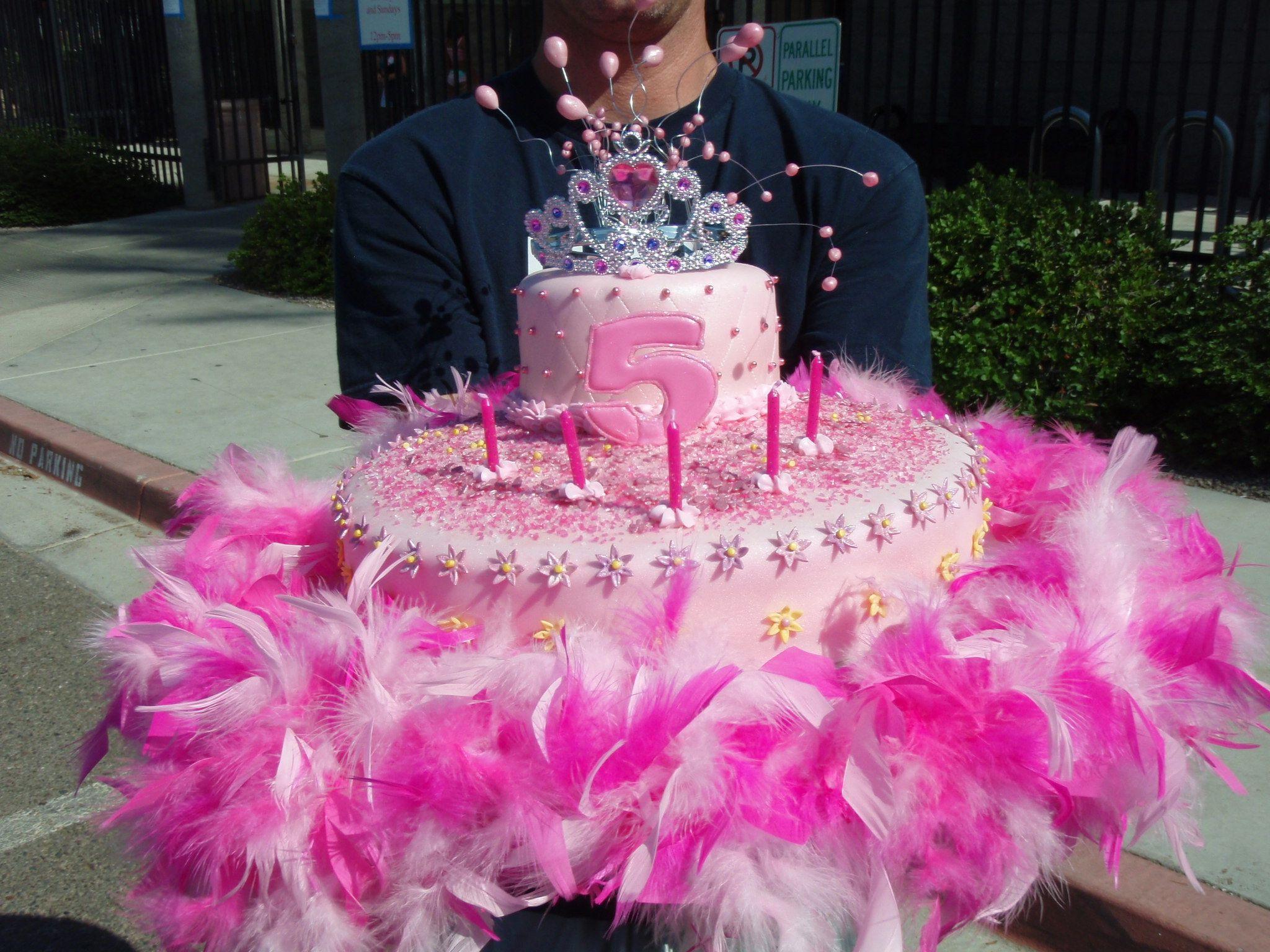 5 Year Old Girls Princess Cake