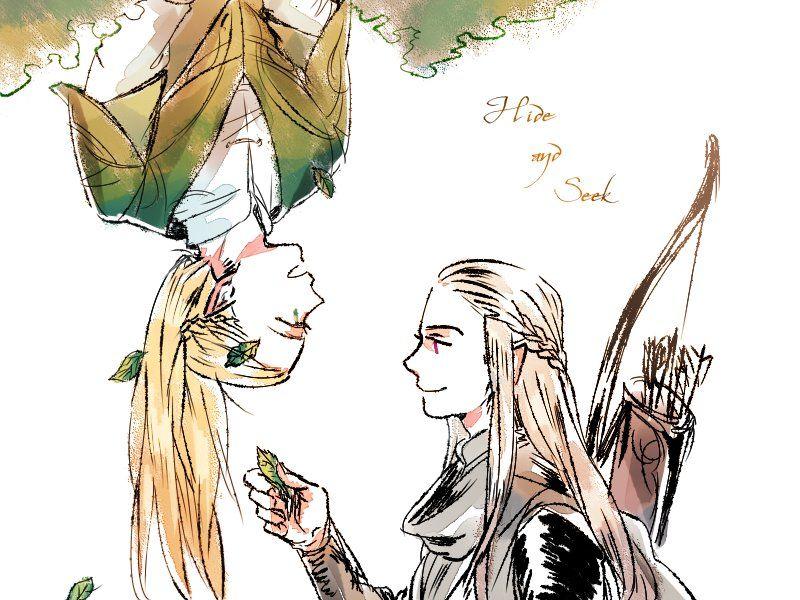 Haldir and Legolas | Tolkien | Pinterest | El señor, Señor y Anillos