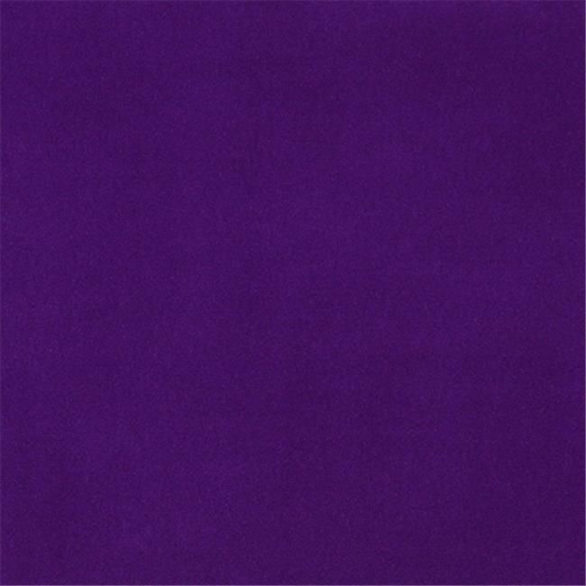 Designer Fabrics C852 54 in. Wide Purple, Solid Plain Velvet Automotive, Residential And Commercial Upholstery V