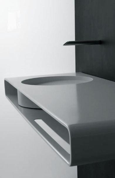 Un lavabo minimalista y puro great design ver m s en http for Lavabo minimalista