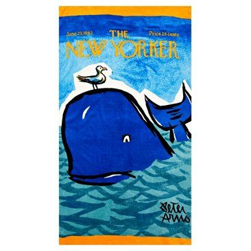 Check Out This Item At One Kings Lane Conde Nast Beach Towel Whale