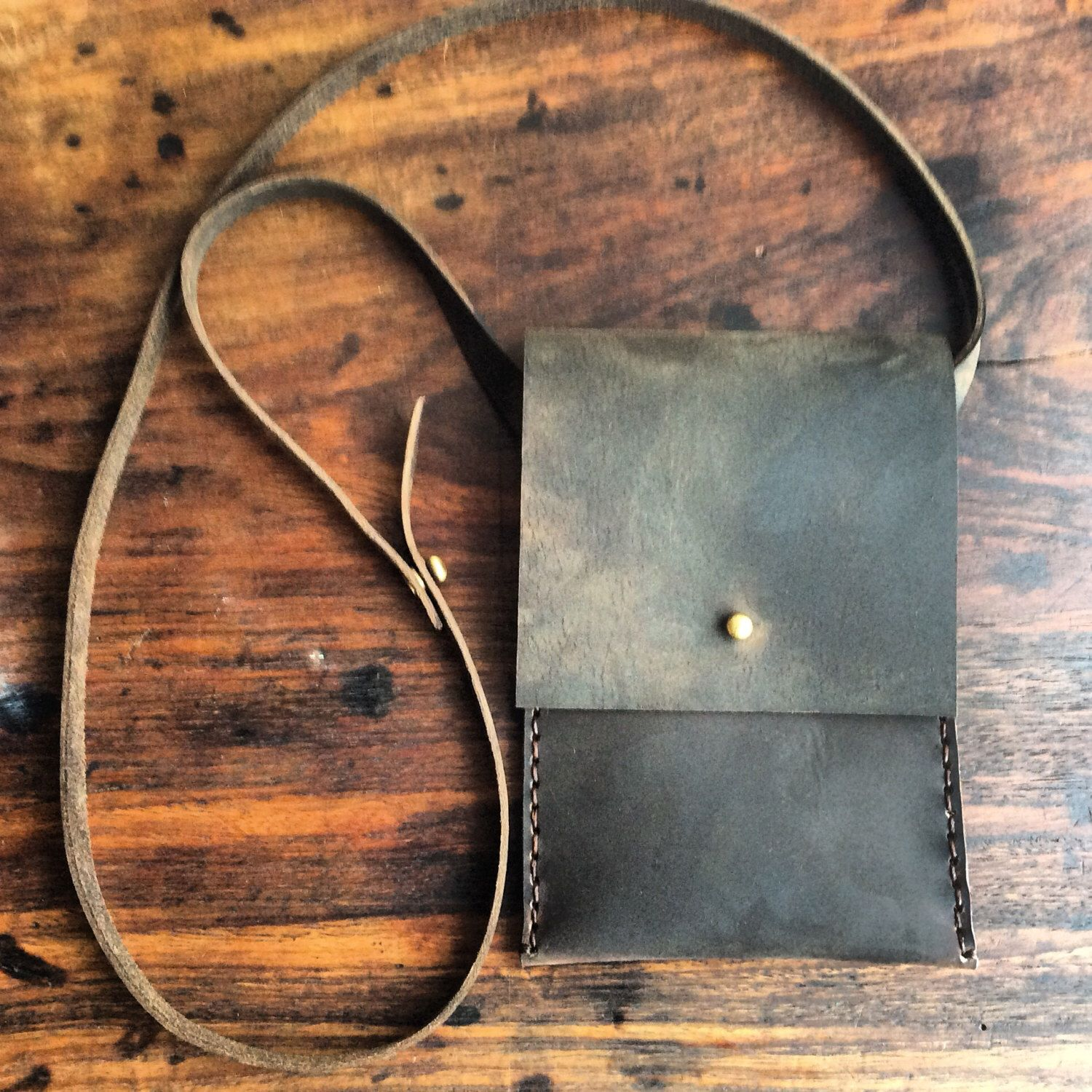 W33rd iPhone6 plus bag, handmade leather bag, cross-body iPhone 6 case, handmade leather iPhone6 plus bags & cases by Aixa Sobin, bag maker by LUSCIOUSLEATHERNYC on Etsy https://www.etsy.com/listing/234314591/w33rd-iphone6-plus-bag-handmade-leather