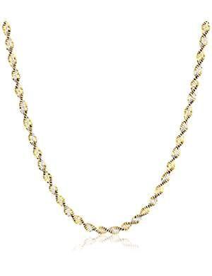Zacria Florence Name Necklace Silver Tone