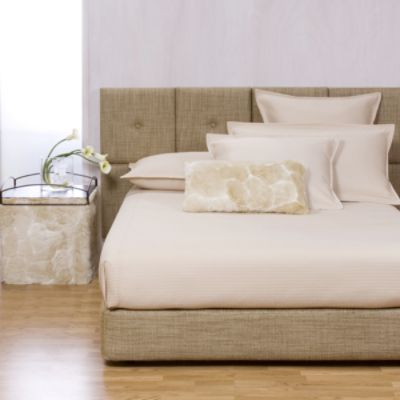 Coco Linen Headboard and Box Spring Kit