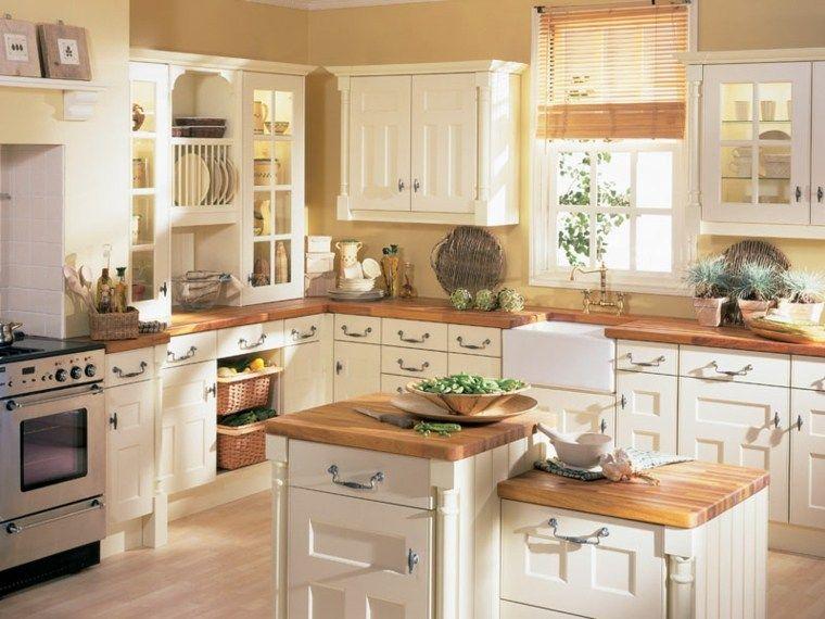 Cuisine ancienne pour un intérieur convivial et chaleureux | Küche ...