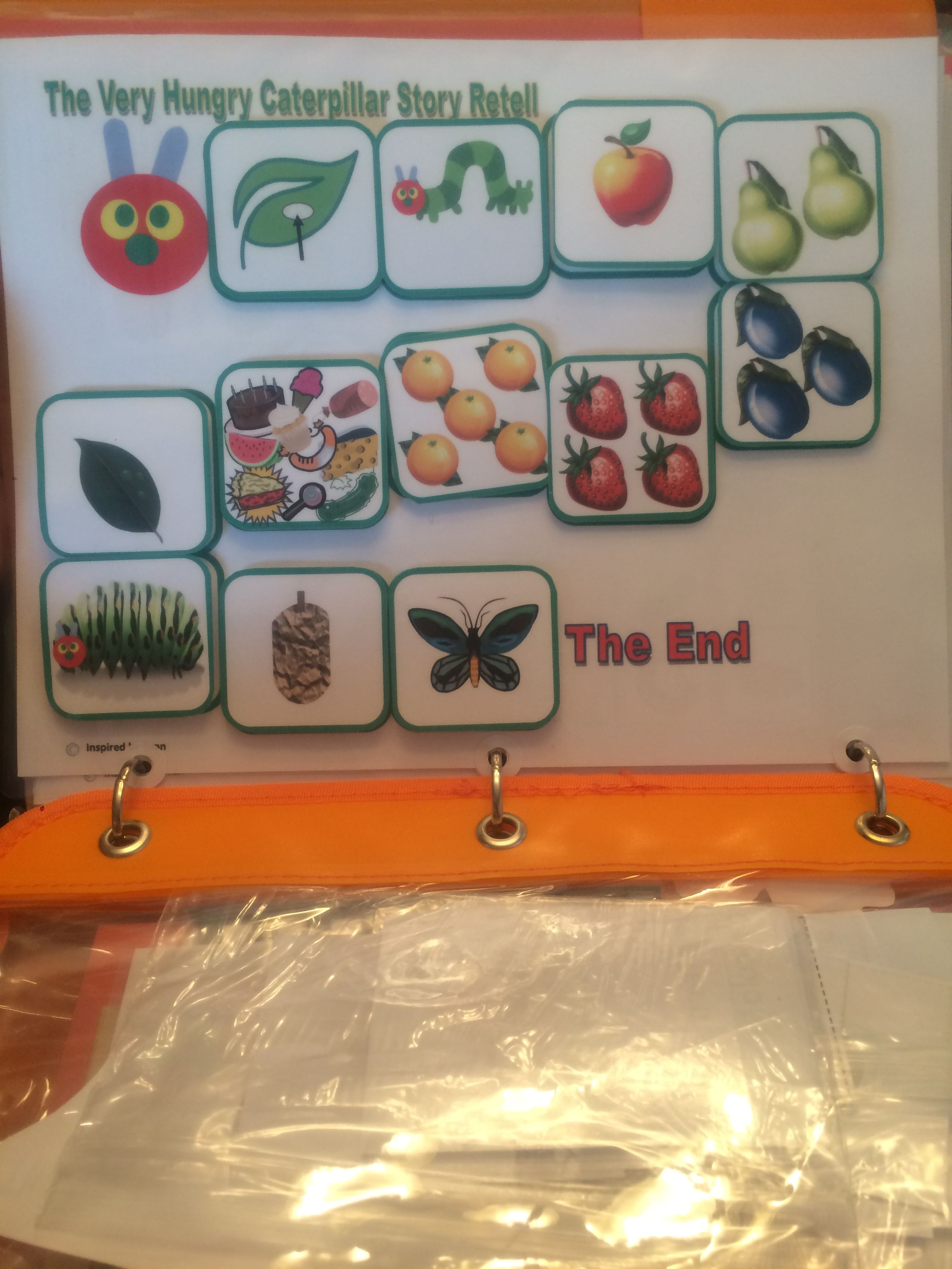 Hungry Caterpillar Match Sort Amp Sequence For Autism