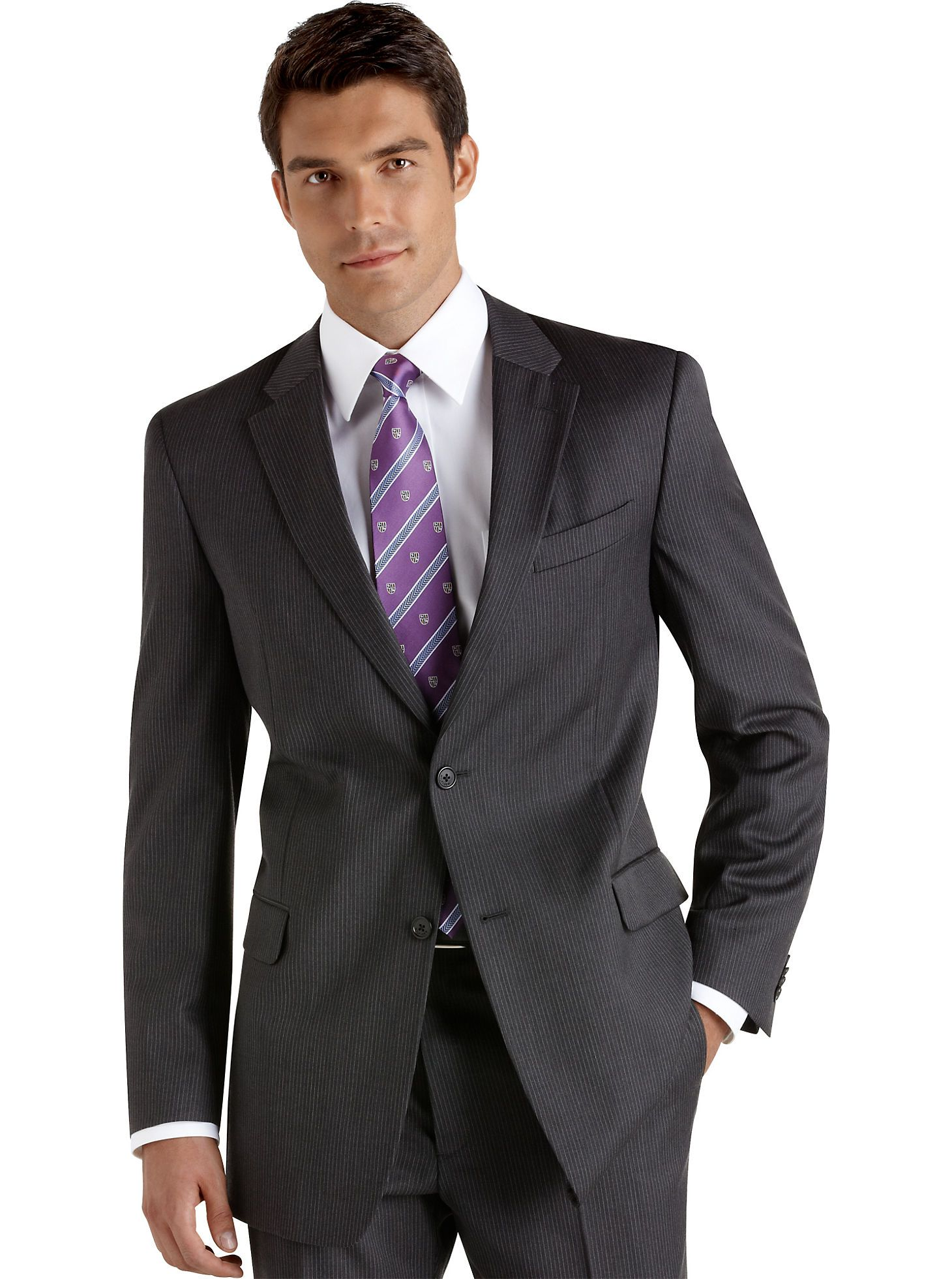 Bar III Charcoal Solid Extra Slim-Fit Jacket | Shops, Suits & suit