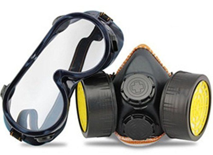 Respirator Mask Industrial Goggles Cartridge Filter Anti Dust