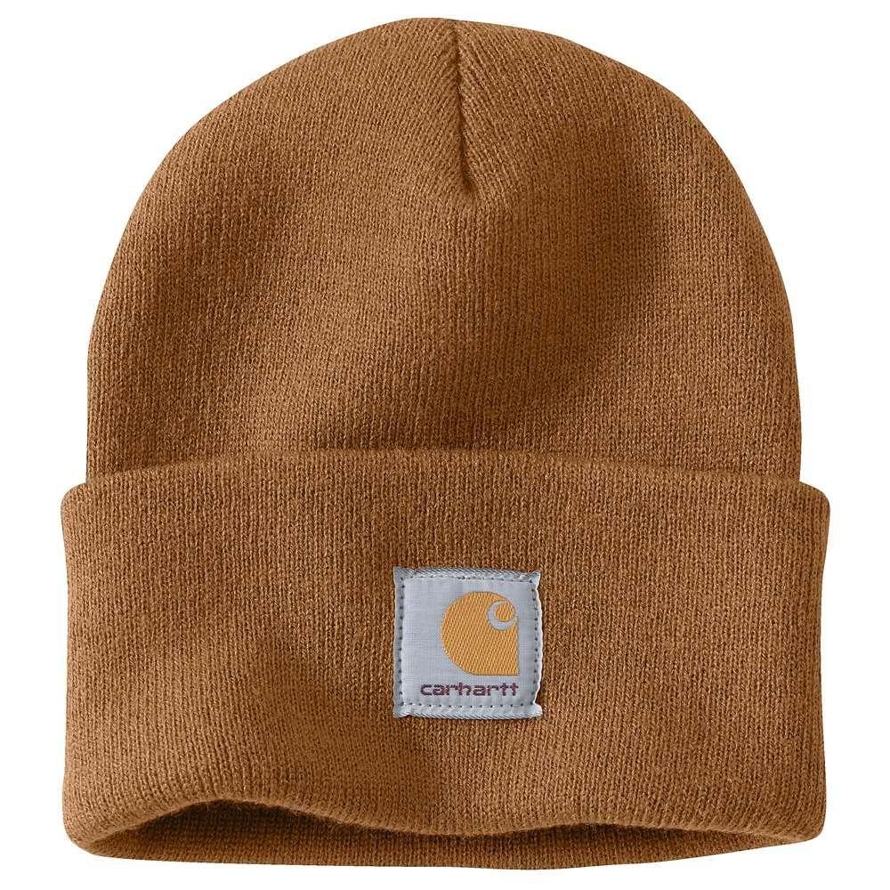 e2c384bdd Carhartt Men's OFA Brown Acrylic Hat Headwear, Carhartt Brown in ...