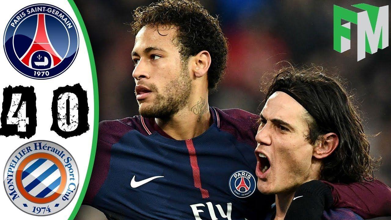 PSG vs Montpellier 40 Highlights & Goals 27 January