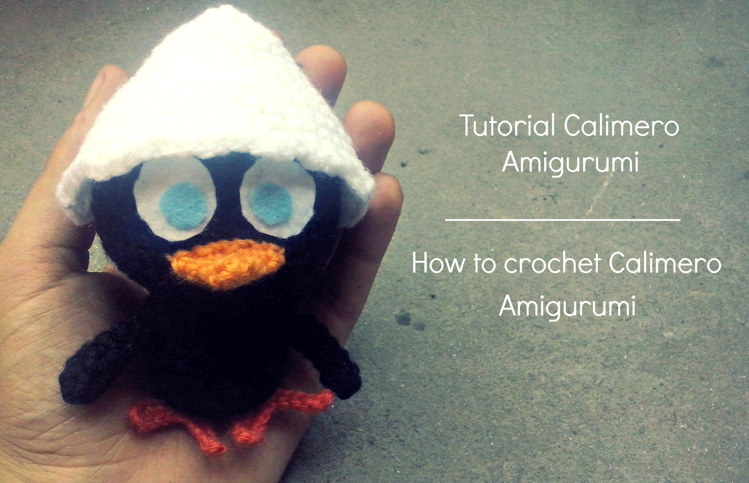 Tutorial Calimero Amigurumi | How to crochet Calimero Amigurumi ...