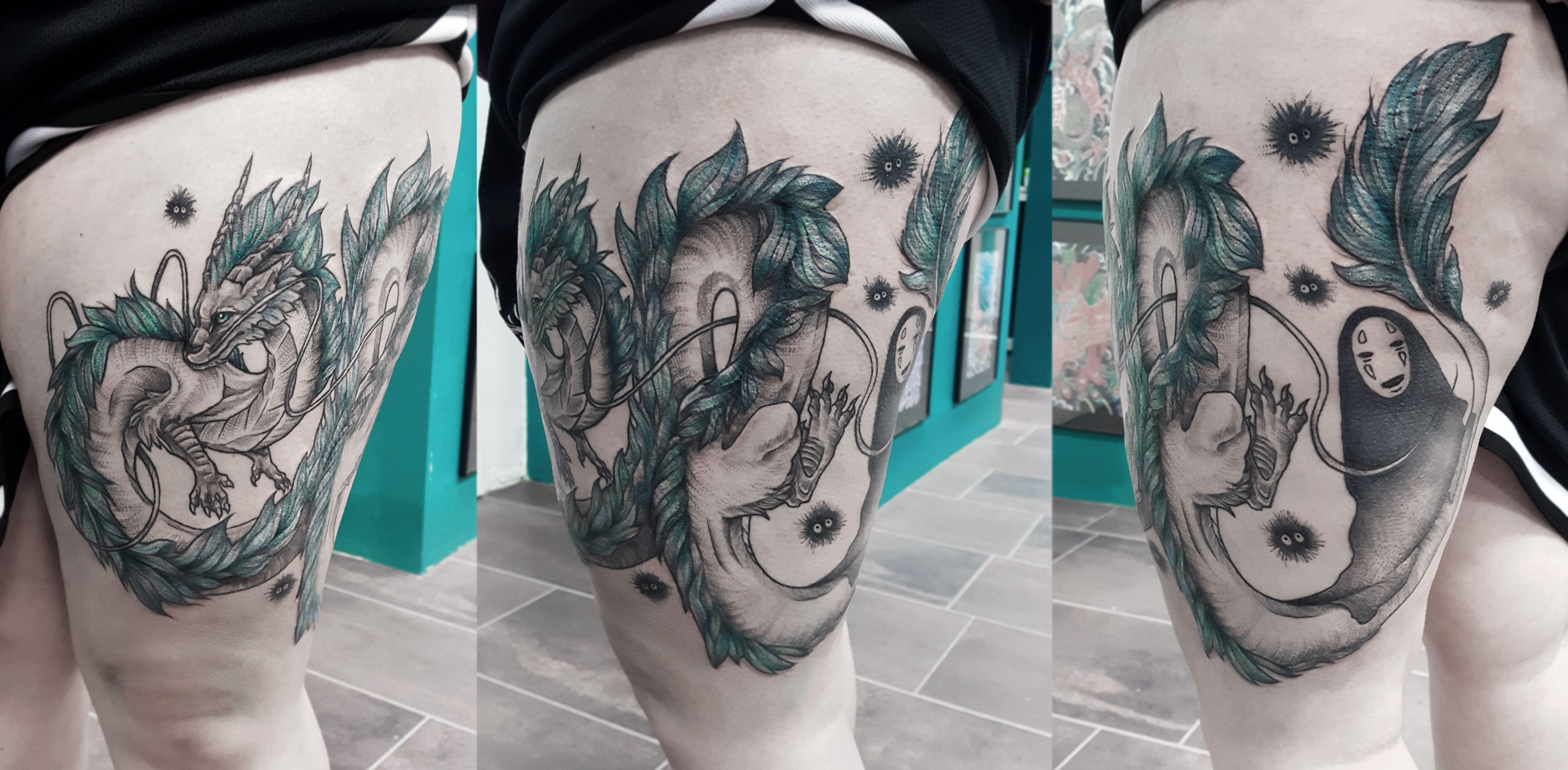 chihiros reise ins zauberland tattoo
