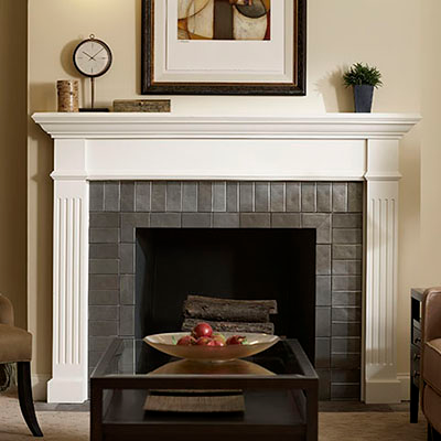 Types Of Fireplaces And Mantels The In 2020 Wood Fireplace Surrounds Modern Fireplace Standing Fireplace