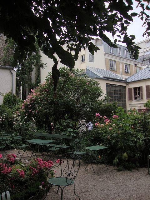 Café du Musée de la Vie Romantique # 16 Rue Chaptal, Paris IX ...