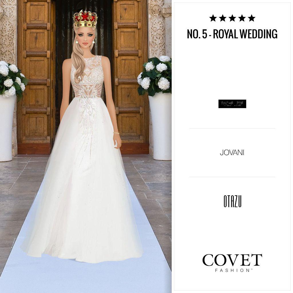 Amazing Covet Fashion Game Look Royal Wedding