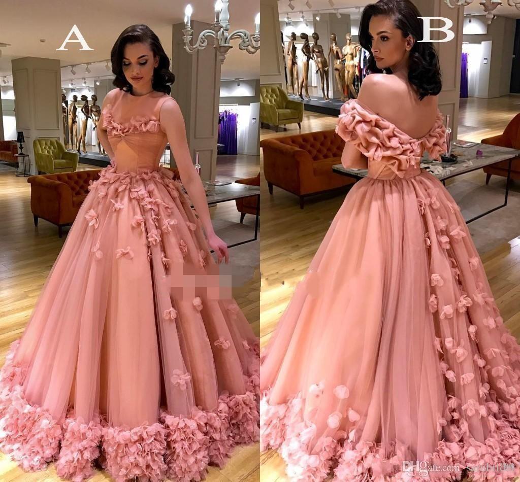 Charming pink sweet 16 dresses formal evening wear cap