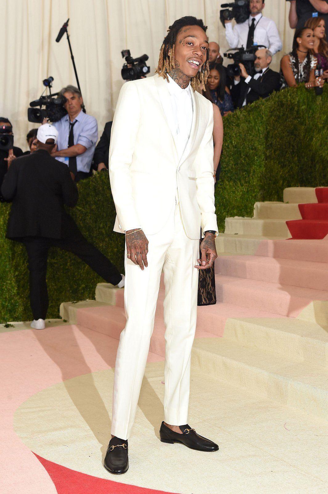 Pictures of wiz khalifa pictures of celebrities - Wiz Khalifa S Met Gala Prep Is As Cool As His Custom Suit