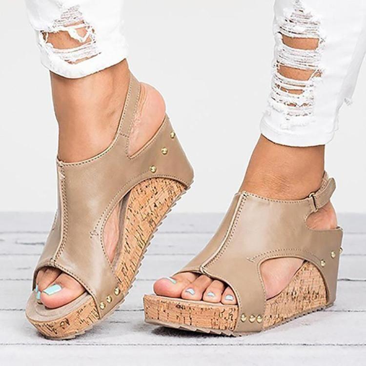 02e23363416 Onex Wedge Sandals Women Cork Wedge Sandals Women  shoemaker  shoeshop   wedgesandals