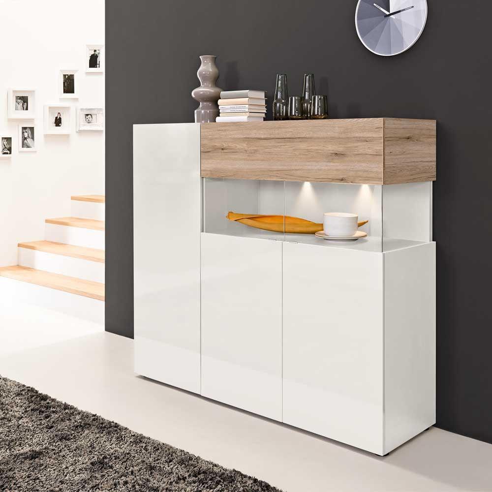genial highboard esszimmer wohnen pinterest highboard esszimmer und highboard wei. Black Bedroom Furniture Sets. Home Design Ideas