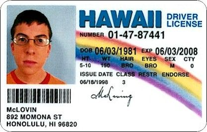 Still the best fake ID name | Pop Culture | Superbad, Movies