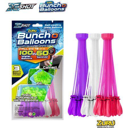 Shipped The Same Day BUNCH O WATER BALLOONS 100 per pack Fills in 60 Secs ZURU