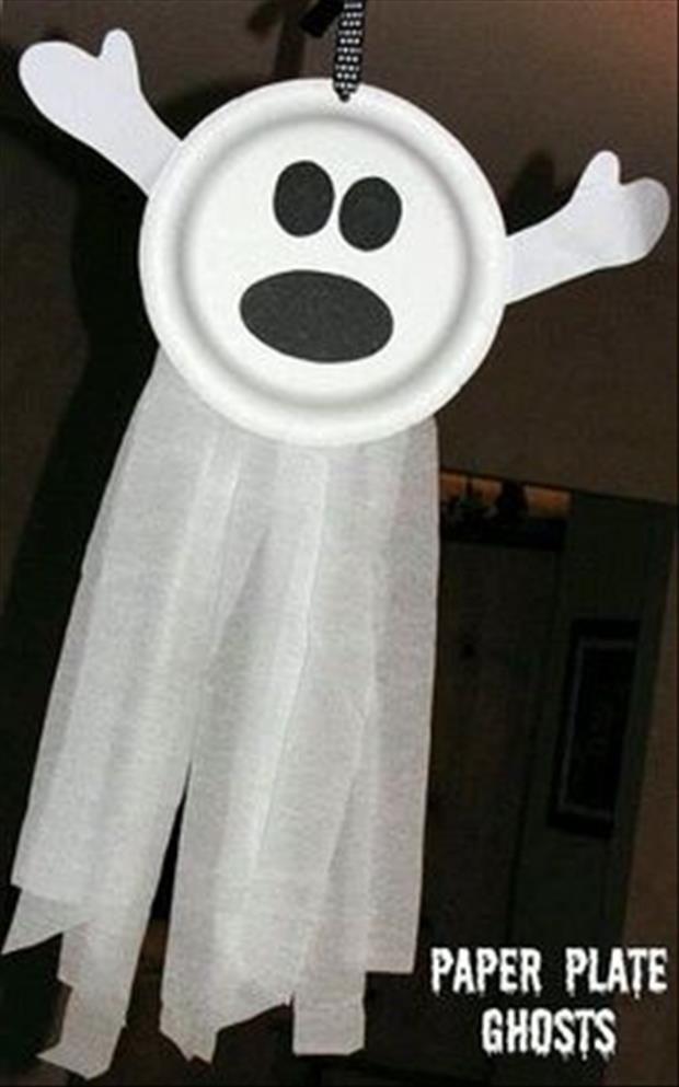 Do It Yourself Halloween Craft Ideas - 24 Pics HALLOWEEN - easy homemade halloween decorations for kids