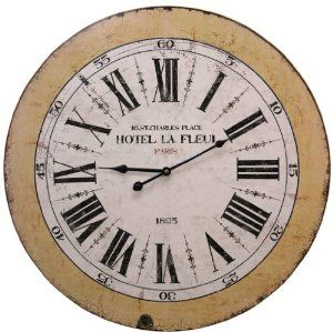 French Word Dining Wall Clock   £19.99