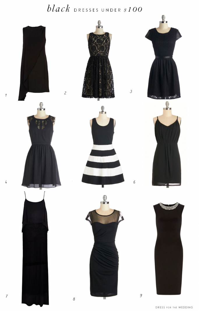 b2910fae2a05 Black Dresses Under $100 | holiday party dress | Dresses, Black ...