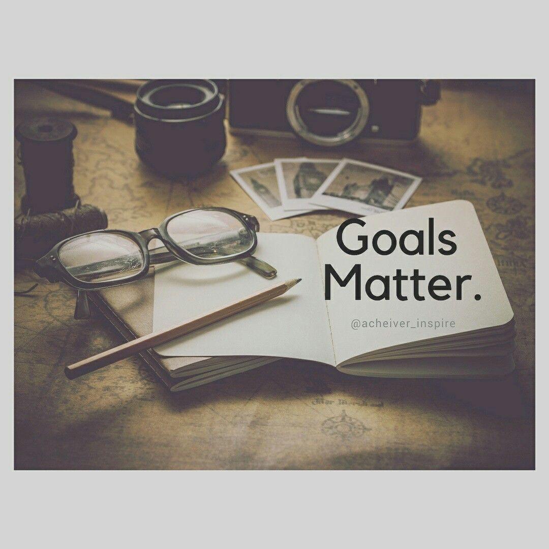 Goals Matters