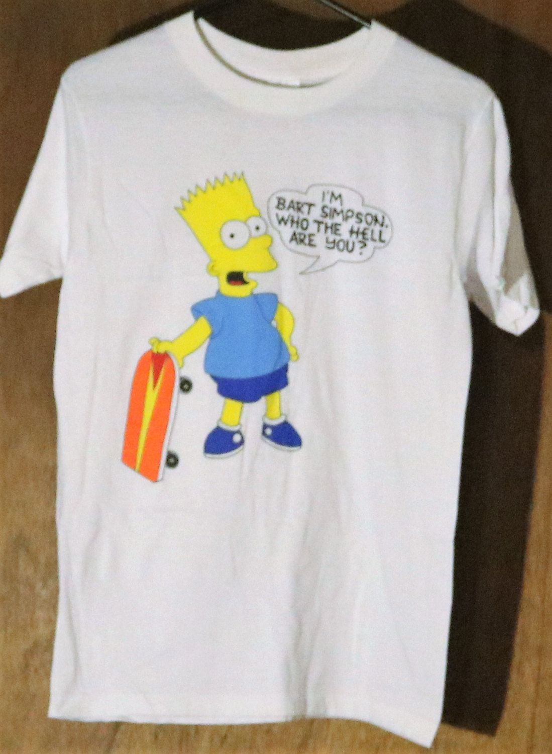 ed407b32c Vintage Medium I'm Bart Simpson, Who The Hell Are You, T-shirt by  HoardersBazaar on Etsy