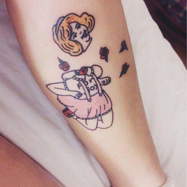 Masami Yanagida Tattoo By Gary Royal Baby Tattoos Tattoos Cute Tattoos