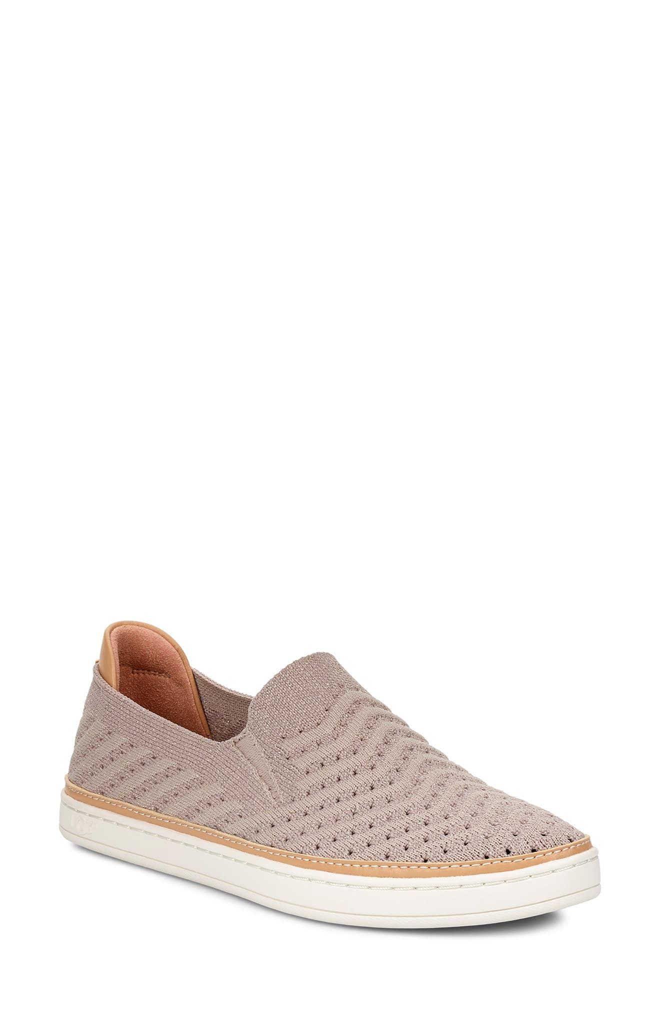 aaeebd23188 Women's Ugg Sammy Slip-On Sneaker, Size 5 M - White in 2019 ...