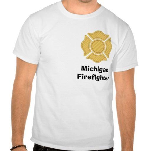 1LOGO11, MichiganFirefighter T Shirt, Hoodie Sweatshirt