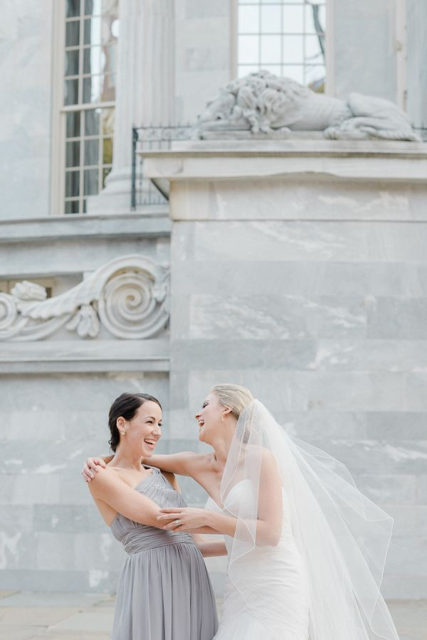 Kendall & Matt's Philadelphia Wedding// #DonnaMorgan bridesmaid ...