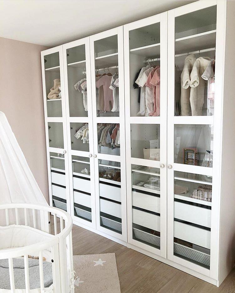 Ikea France Sur Instagram Le Dressing Bebe Tout En Douceur De Instant Deco By Flo Ikeafrance Homedecor Inspiratio Baby Room Decor Girl Room Ikea France