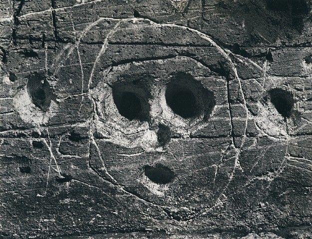 brassai graffiti de la serie iv masques et visages 1935 1950 gelatin ...