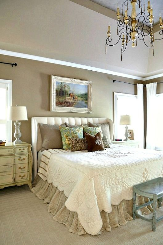 French Country Master Bedroom Refresh | Country master ...