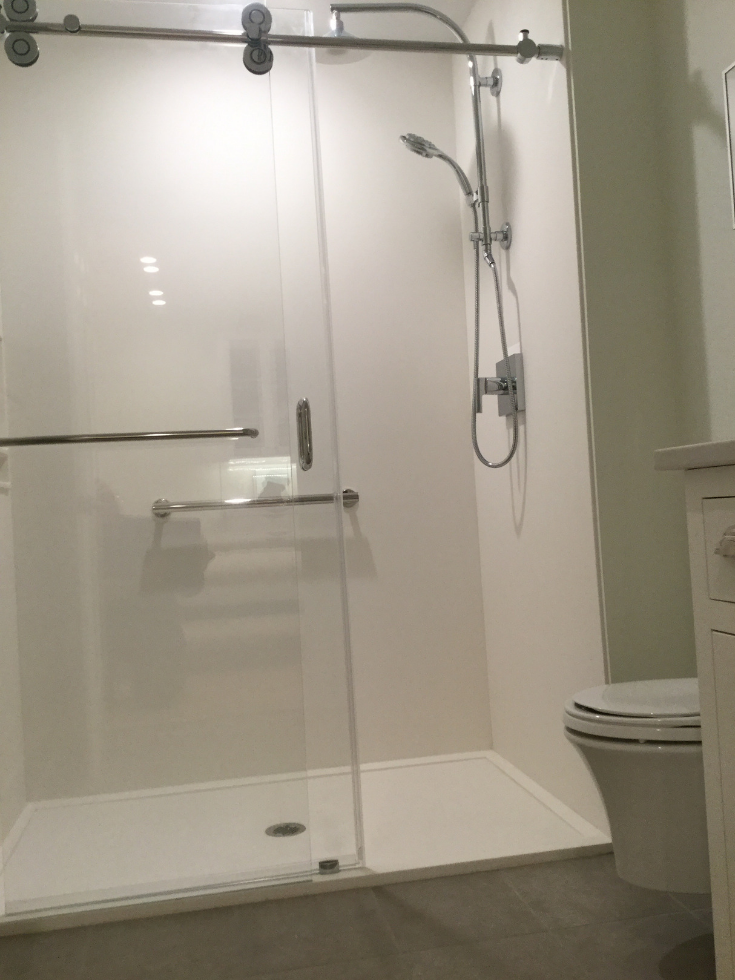 maybe shower wall panels aren t a crazy idea after all on shower wall panels id=96665