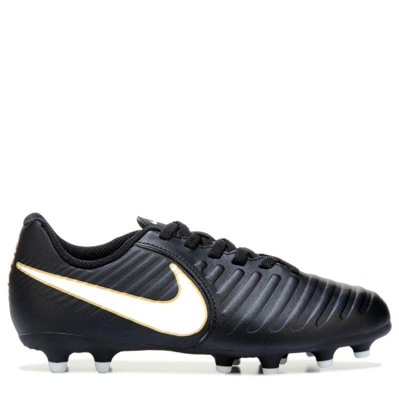 reputable site 3adb8 4637a Nike Kids Legend 7 Cleat PreGrade School Shoes (BlackWhite)