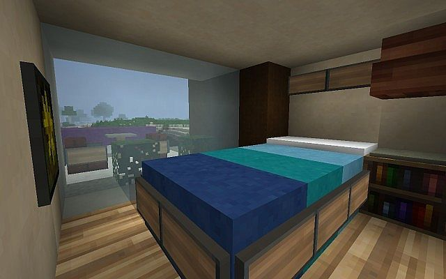 Minecraft Hotel Room With Images Minecraft Room Decor