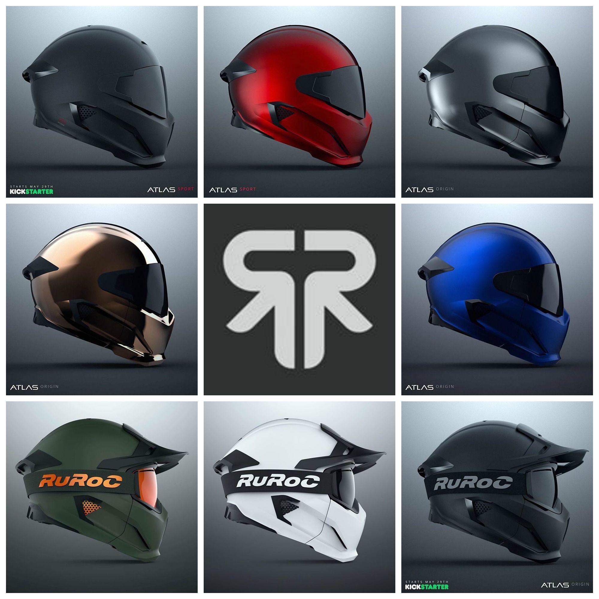 Ruroc Motorcycle Helmet Motorcycle Helmets With Style Motorcycle