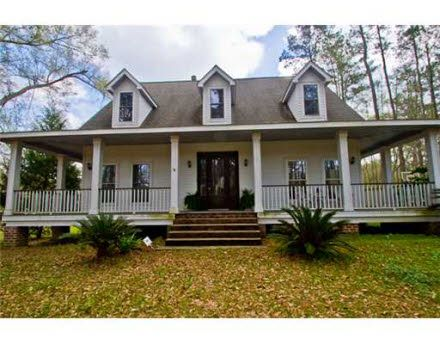 Love The Porches Acadian Homes Acadian Style Homes House