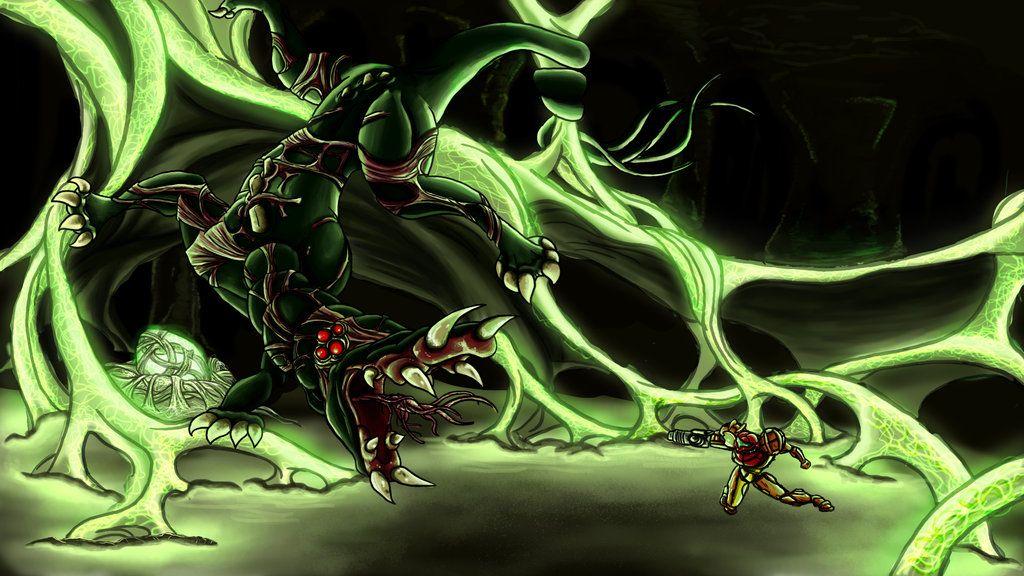 Metroid Bosses Queen By Cronoandeviantart On DeviantART
