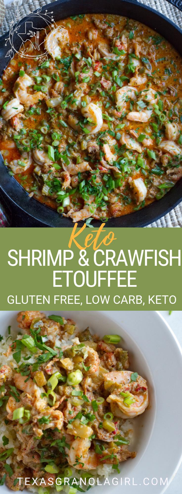 Photo of Keto Shrimp Etouffee with Crawfish | Texas Granola Girl | Texas & Southern Keto Comfort Food Recipes