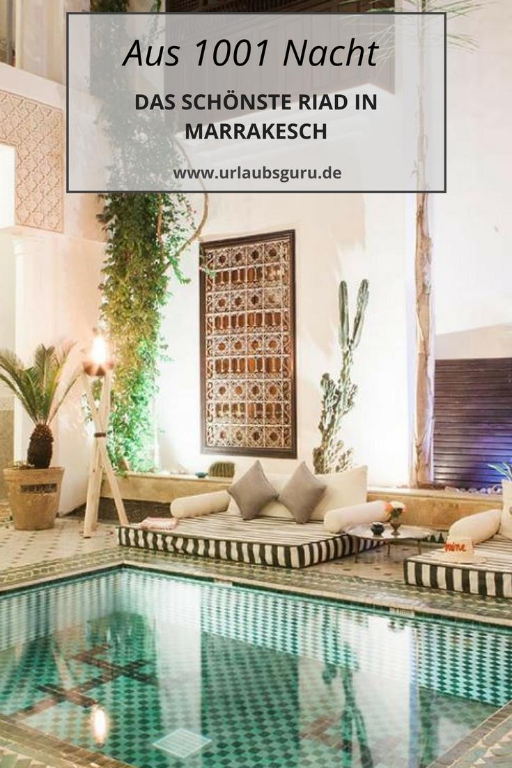 Yasmine - das schönste Riad Hotel in Marrakesch #futuretravel