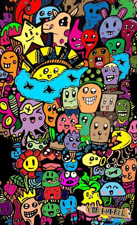 Doodle Graffiti Doodles Wallpaper Doodle Graffiti Wallpaper