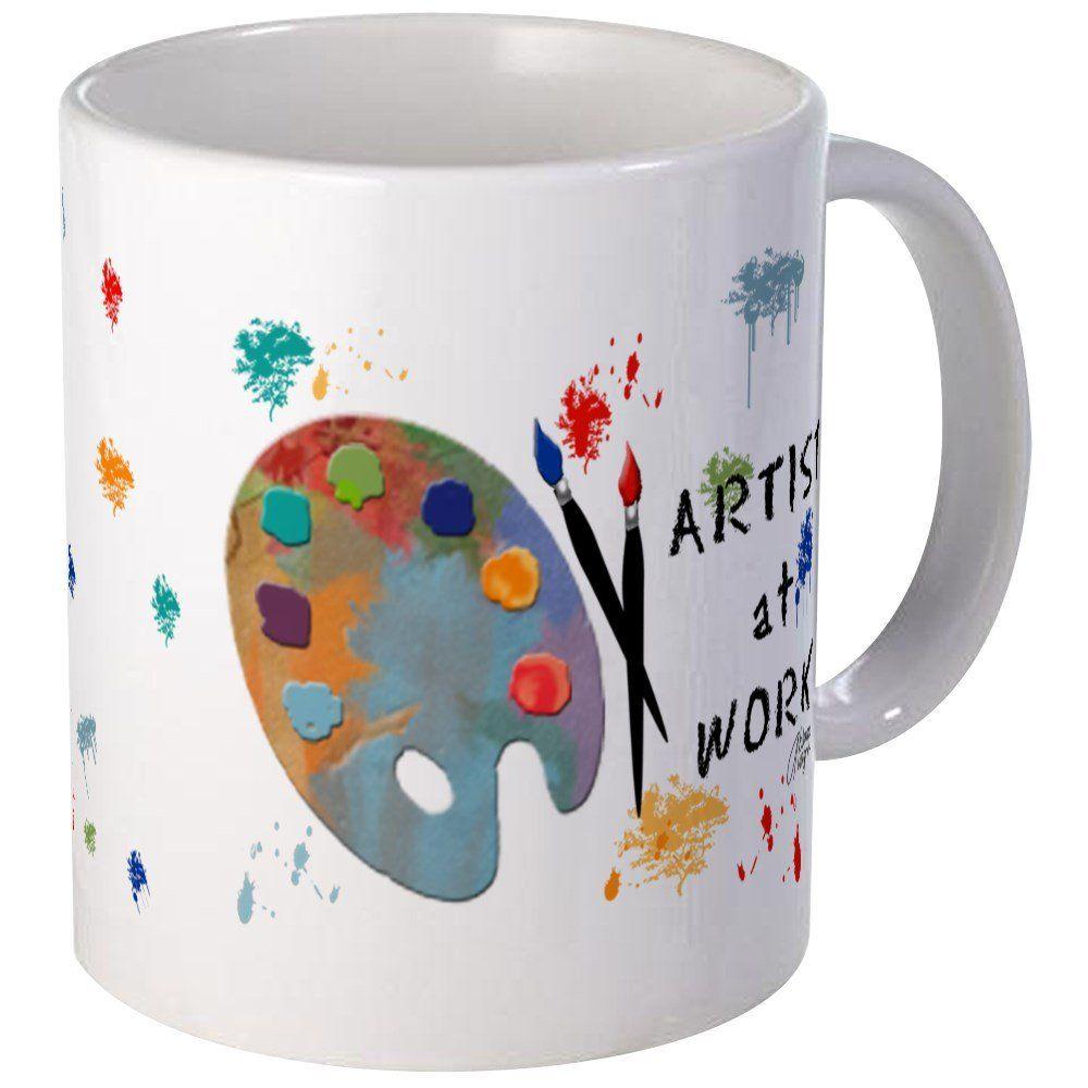 Cafepress artist at work mug unique coffee mug coffee cup